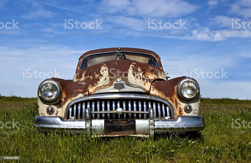 Buick Eight Super, 1947 stock photo