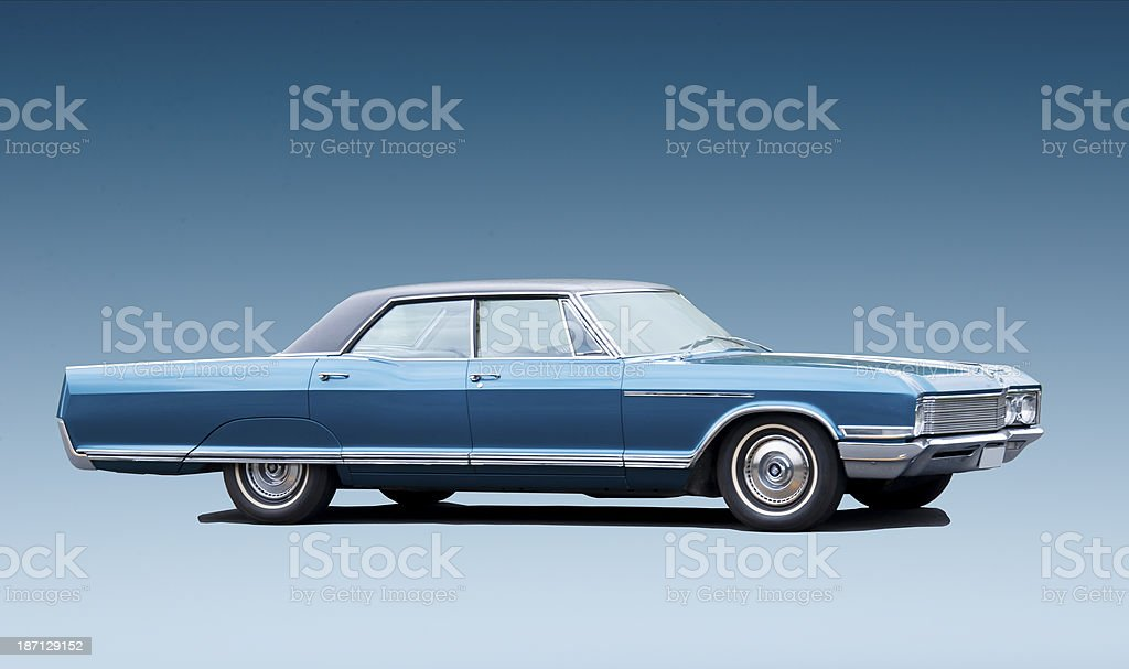 Buick Electra from 1966 stock photo