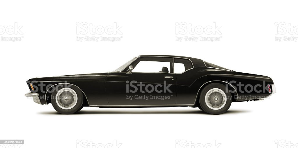 Buick Riviera 1972 stock photo