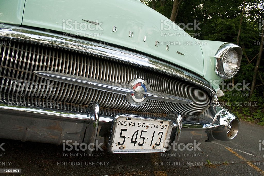 Buick Special Detail royalty-free stock photo