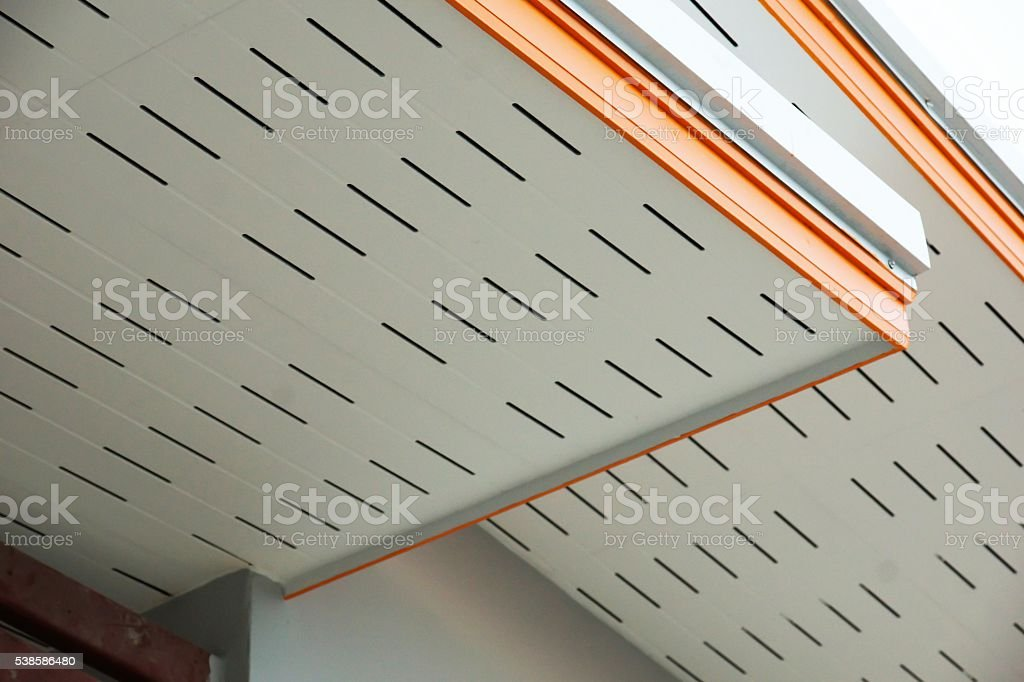 build ceiling stock photo