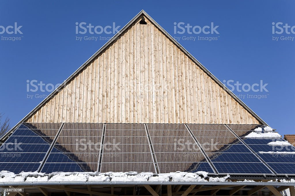 Build with solar energy (18) royalty-free stock photo