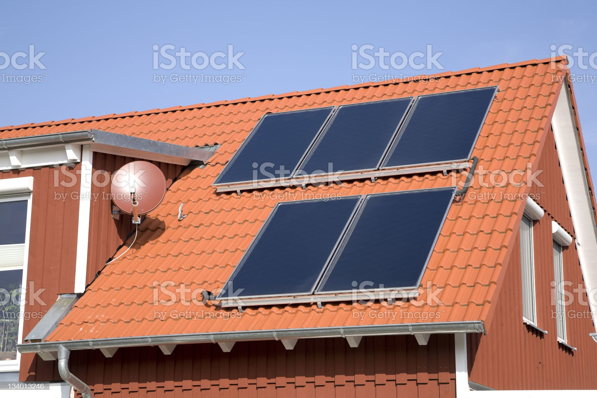 Build with solar energy (17) royalty-free stock photo