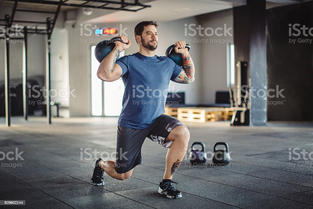 Build your body, build your character stock photo