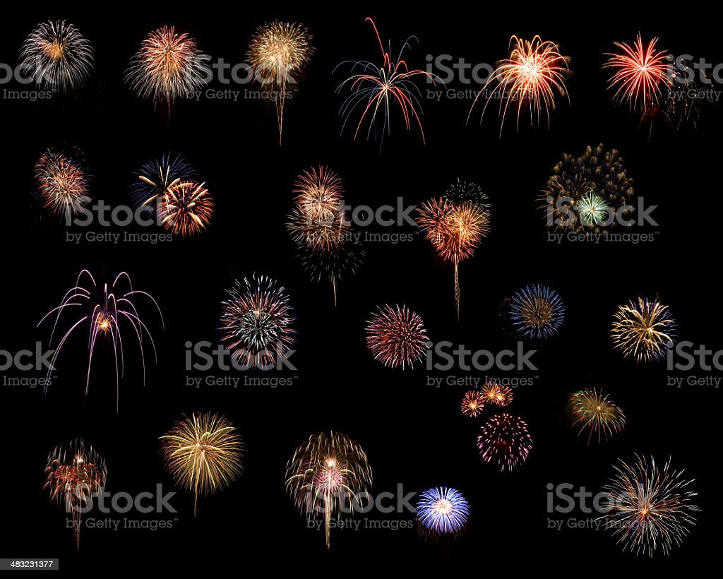 Build Your Own Fireworks Display royalty-free stock photo