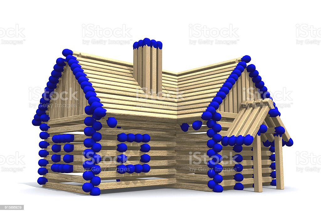 Build your own home royalty-free stock photo