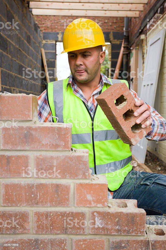 Builder stock photo
