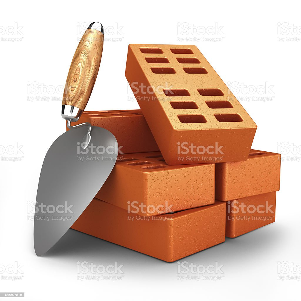 Builder tools royalty-free stock photo