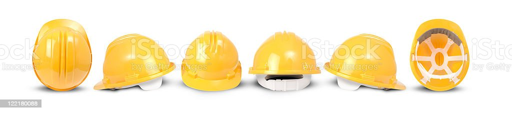 builders hard hat royalty-free stock photo