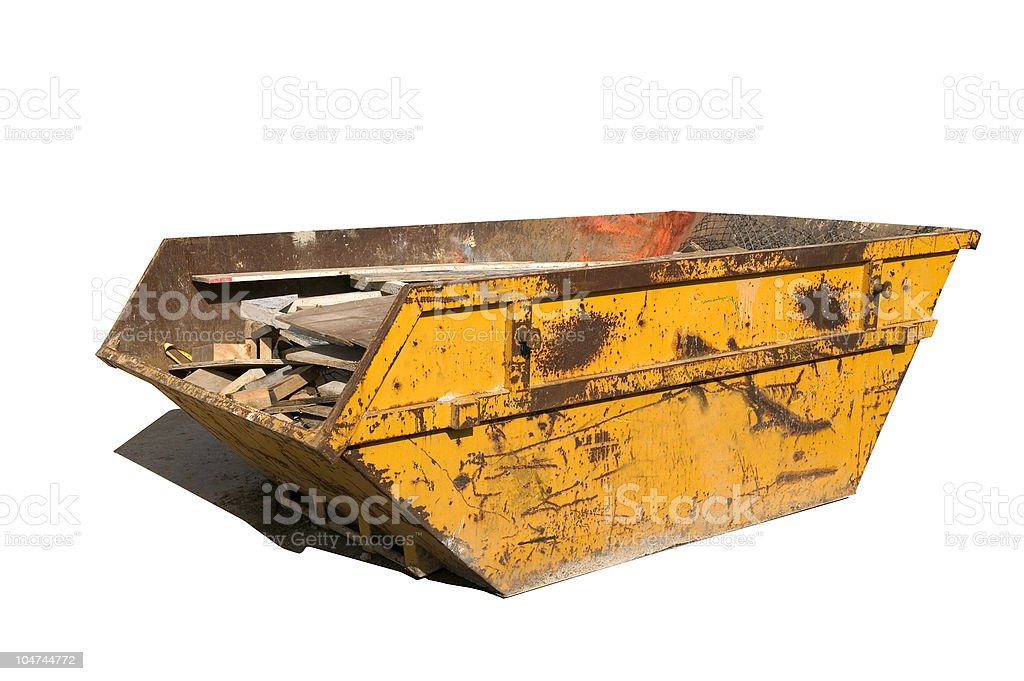 Builders skip stock photo