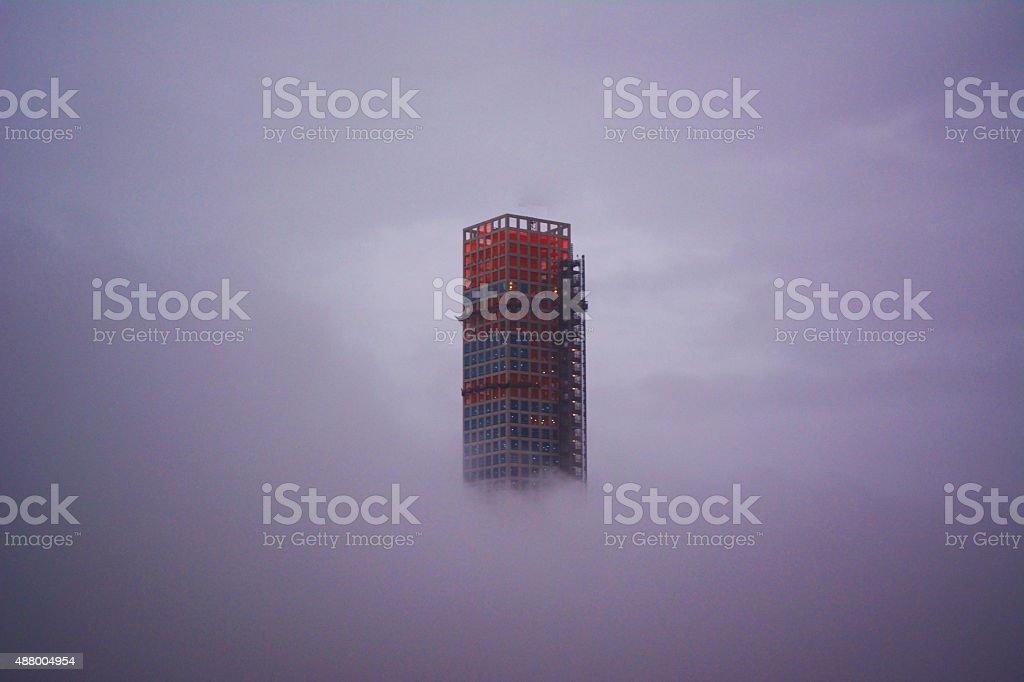 Building 432 Park Avenue stock photo