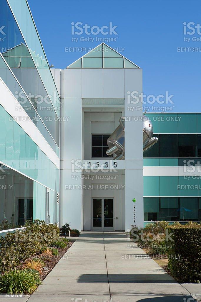 Building 45. Googleplex stock photo