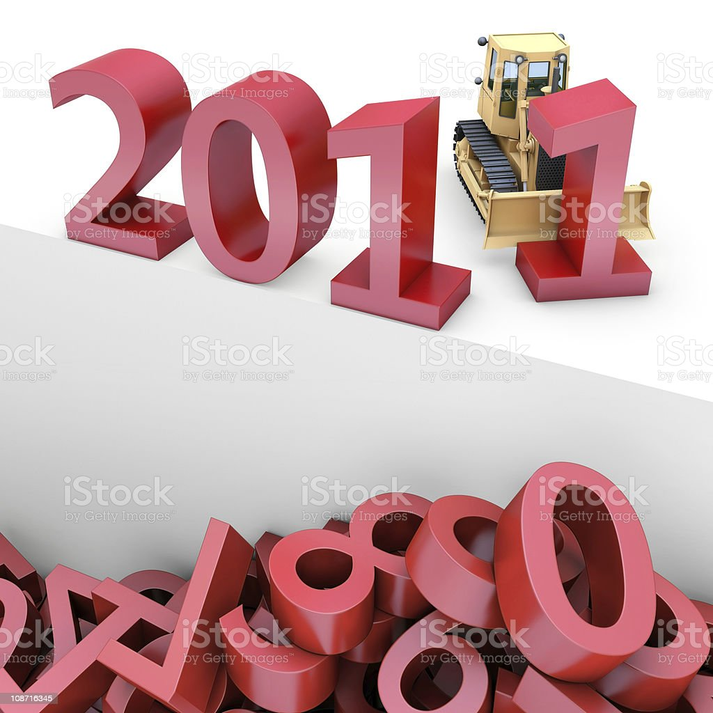 Building a better new year royalty-free stock photo
