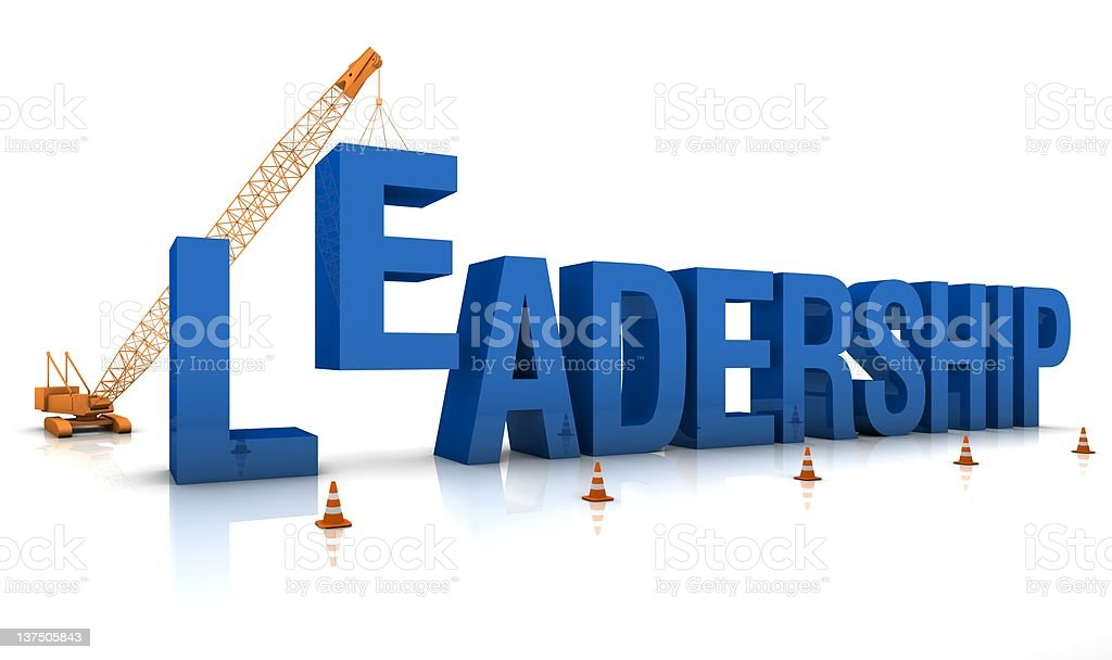 Building a Leadership royalty-free stock photo