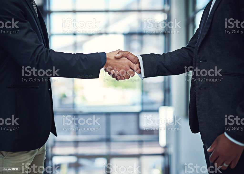 Building a strong network pays off stock photo
