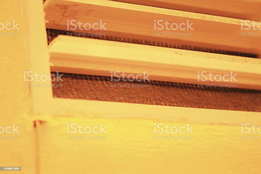 building a trellis stock photo