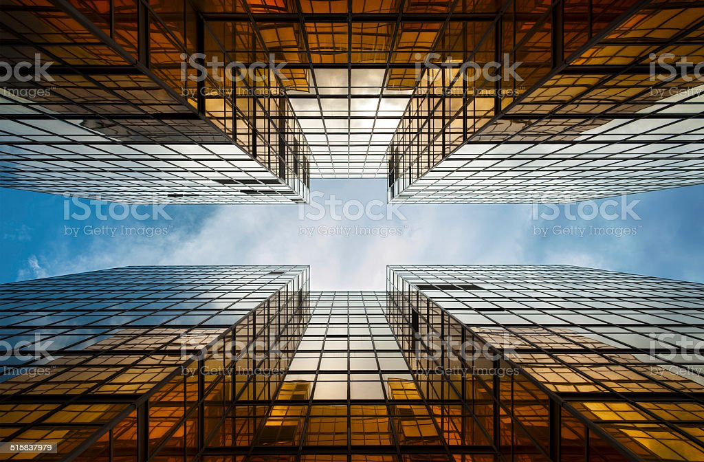 Building Abstract stock photo