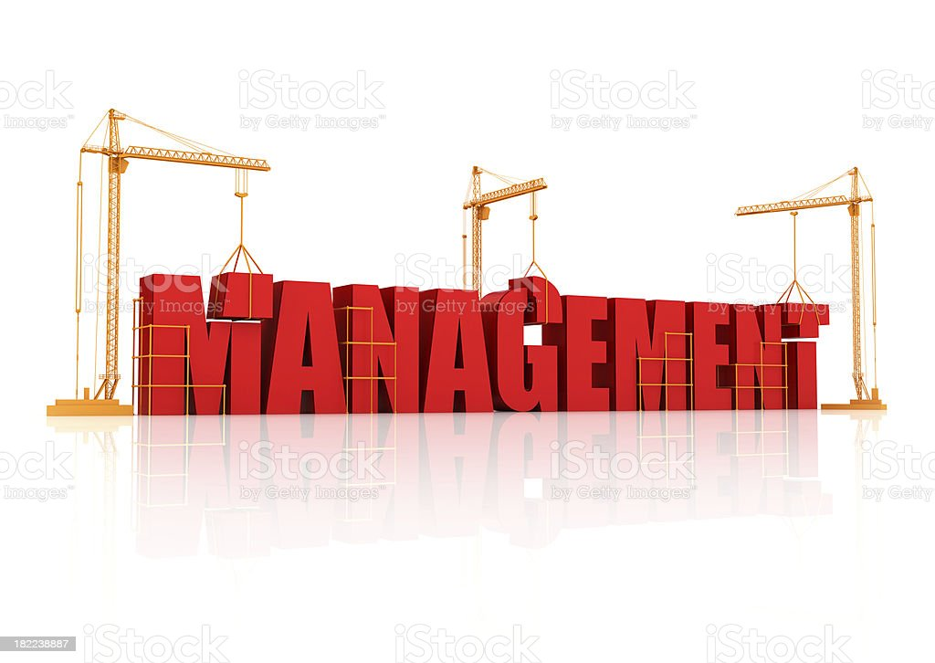Building and managment royalty-free stock photo