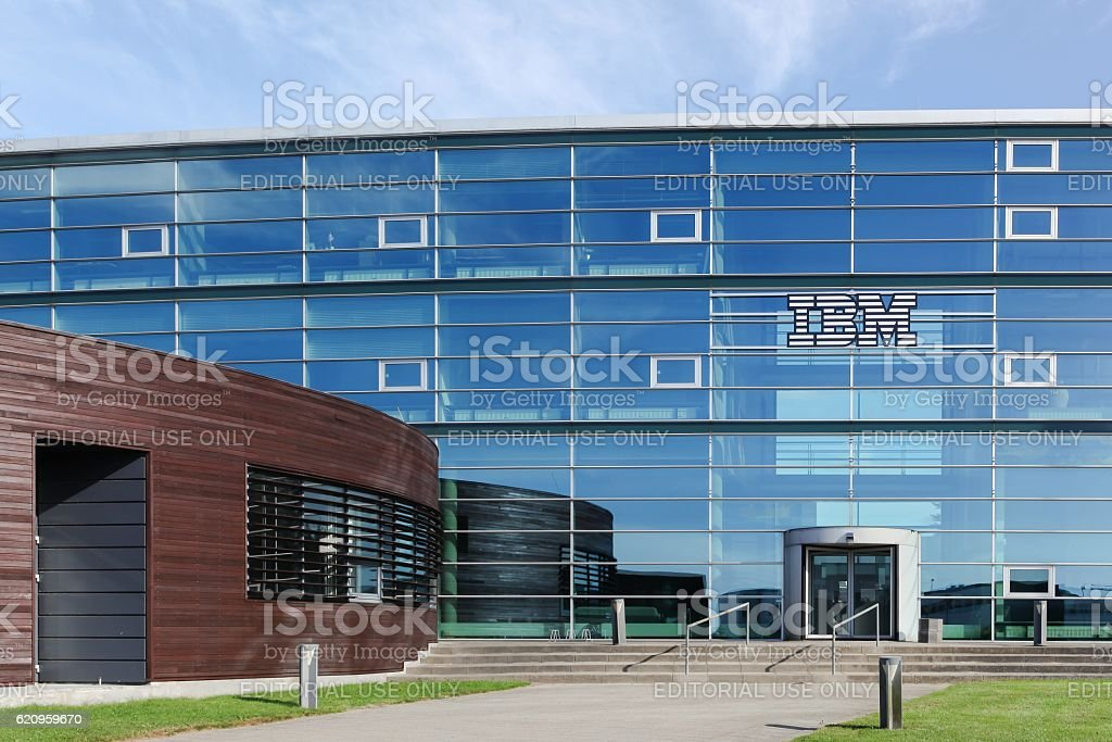 IBM building and office in Aarhus, Denmark stock photo
