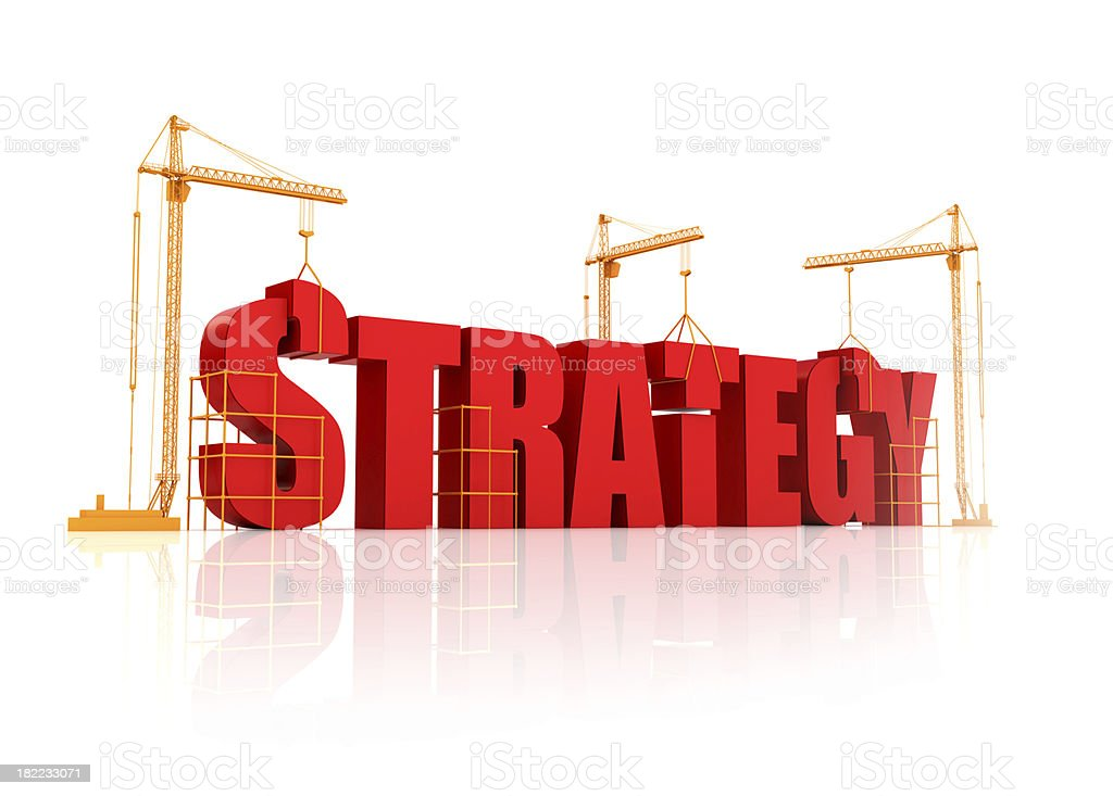 building and strategy royalty-free stock photo