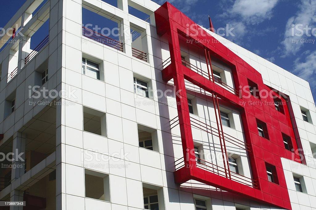 Building at Meknes stock photo