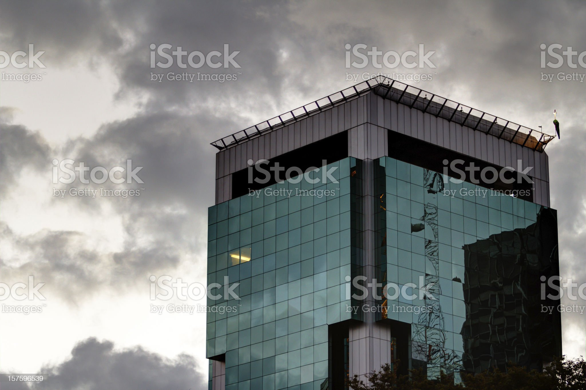 Building at Paulista Avenue royalty-free stock photo