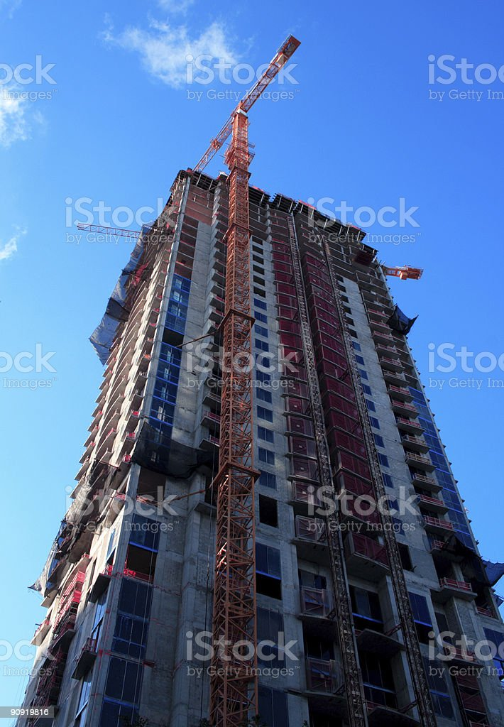 Building Being Built royalty-free stock photo