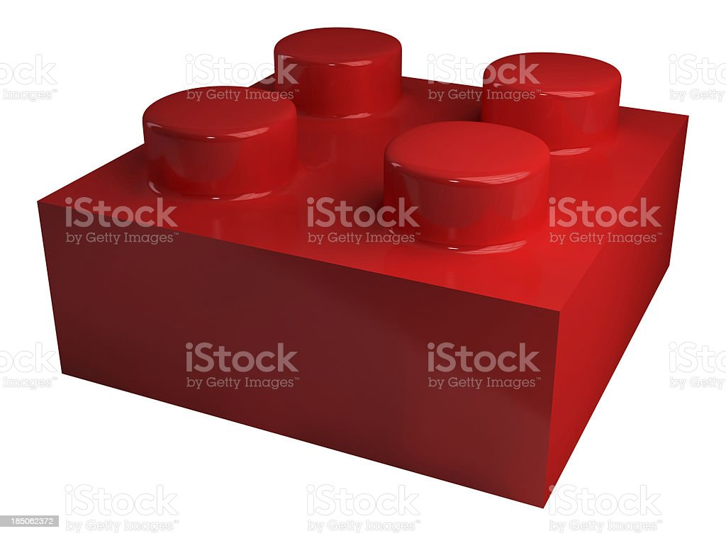 Building Block royalty-free stock photo