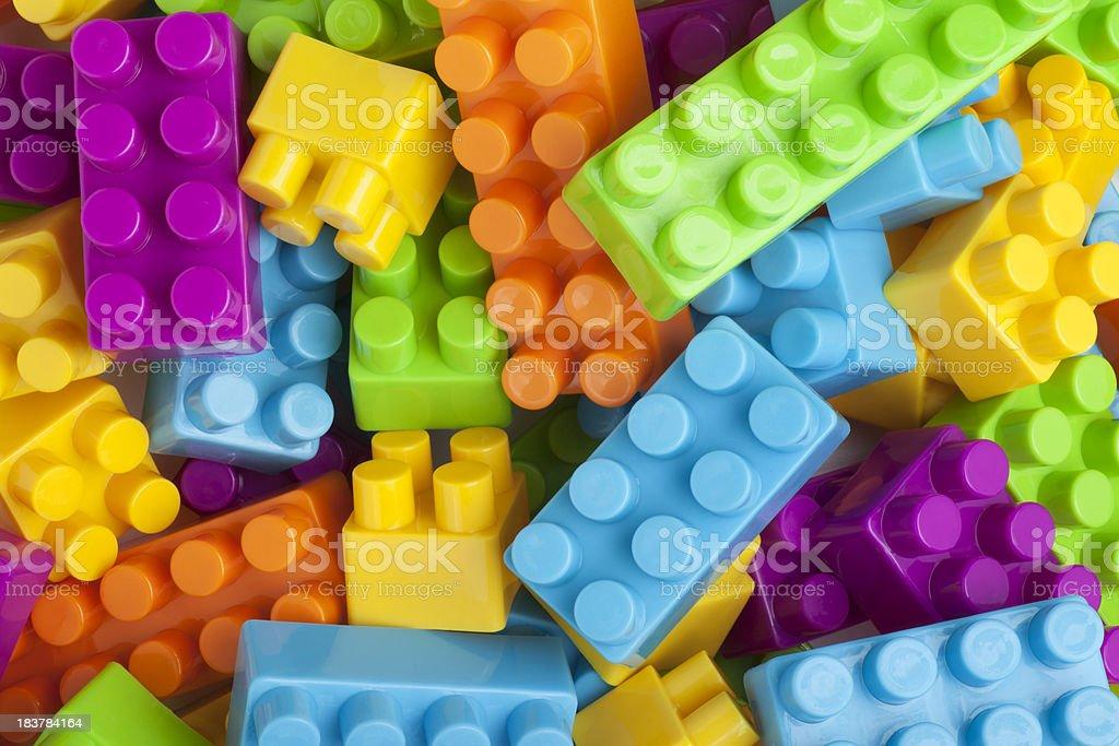 Building Blocks stock photo