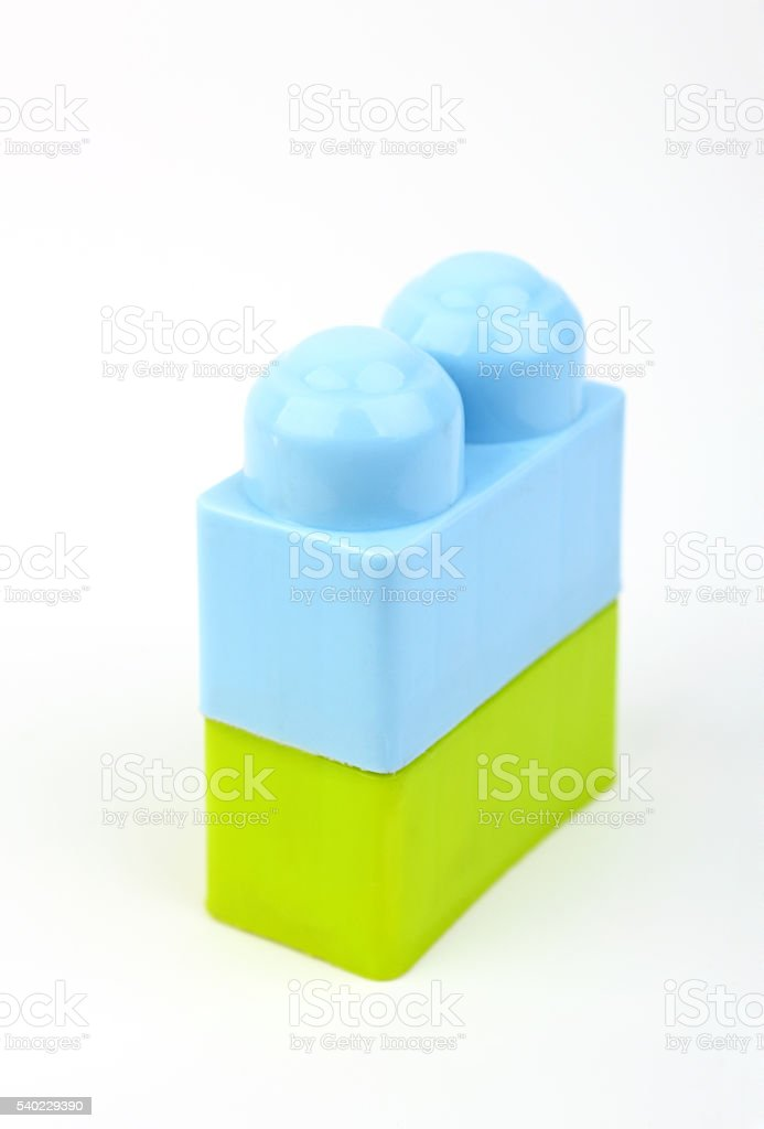 Building blocks stock photo
