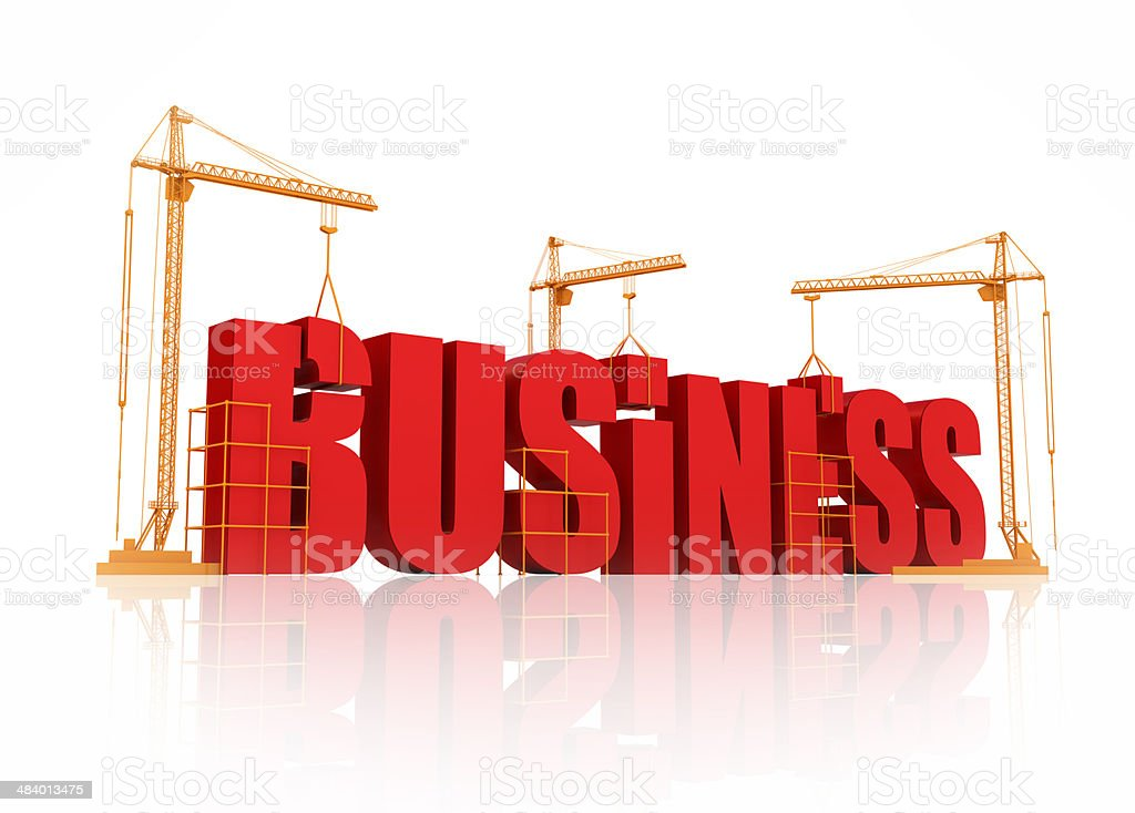 Building Business royalty-free stock photo