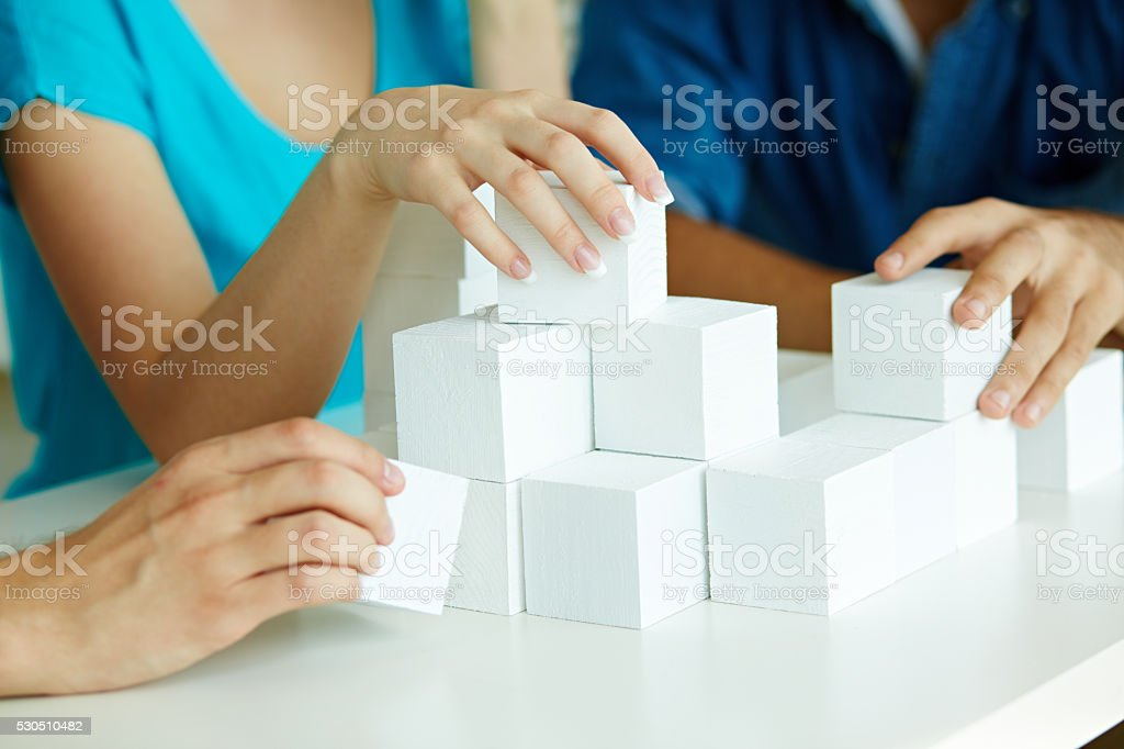Building business stock photo