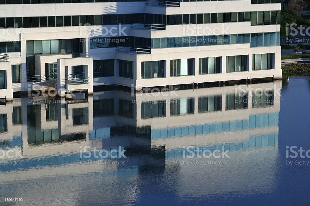 Building by Water royalty-free stock photo