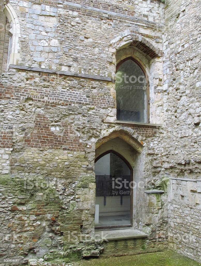 Building conservation stock photo