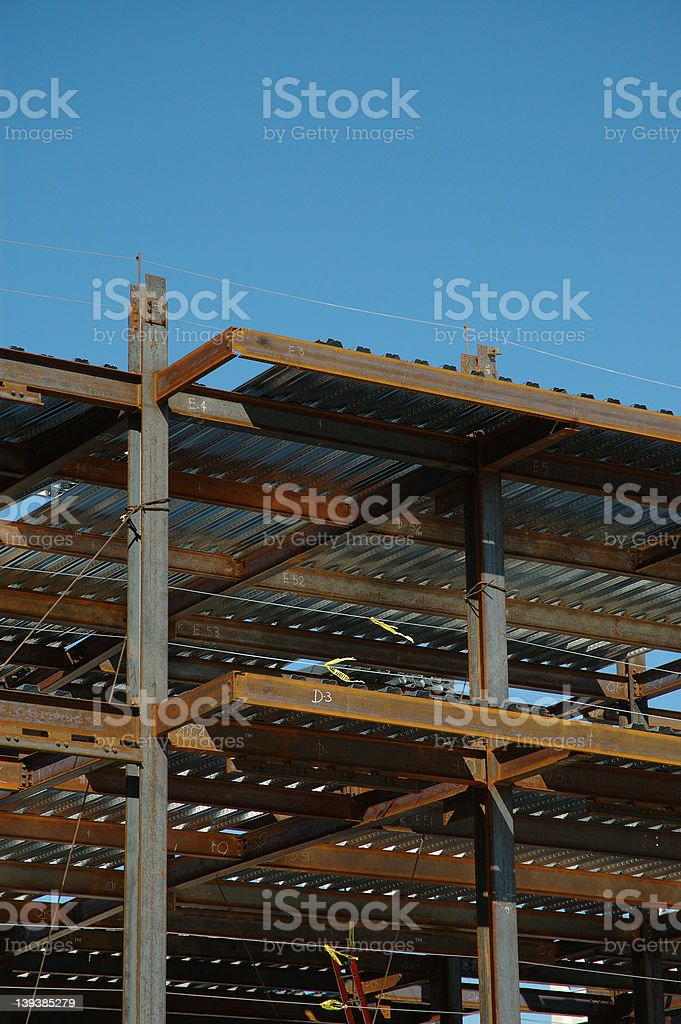 Building construction 2 royalty-free stock photo