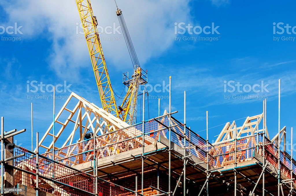 Building Construction stock photo