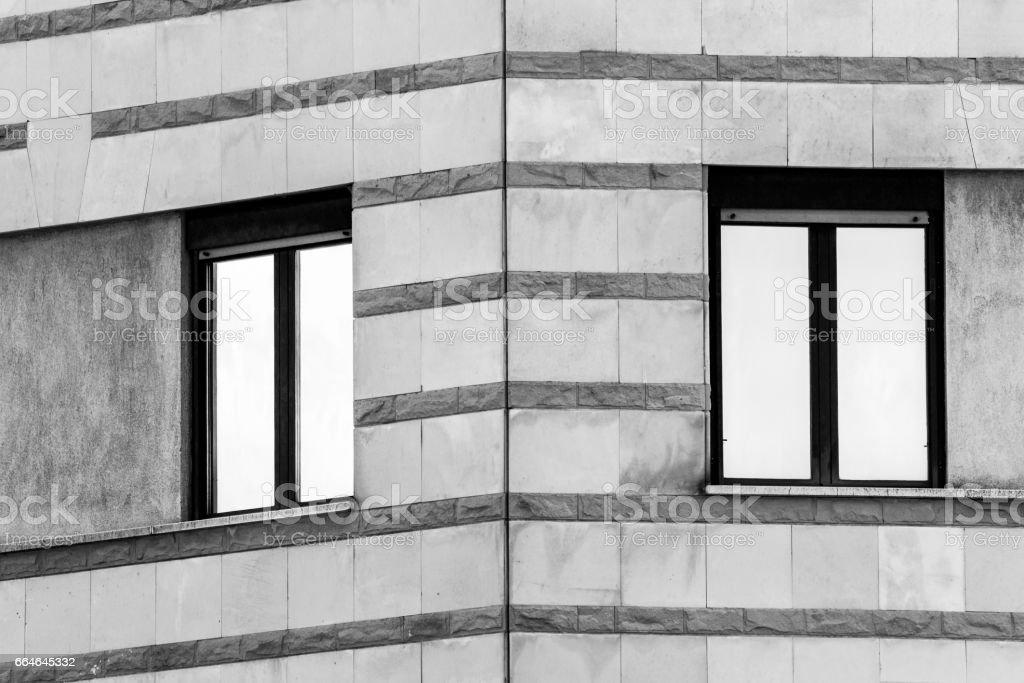 Building Corner stock photo