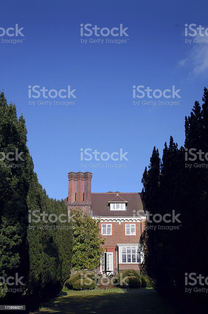 Building - Country House royalty-free stock photo