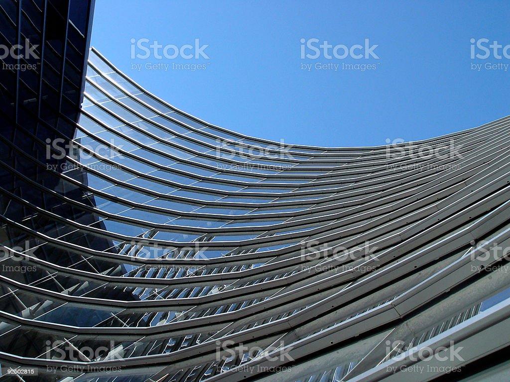 building curve stock photo