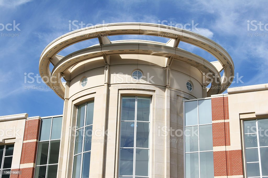 Building Curved 2, Lexington, Kentucky stock photo