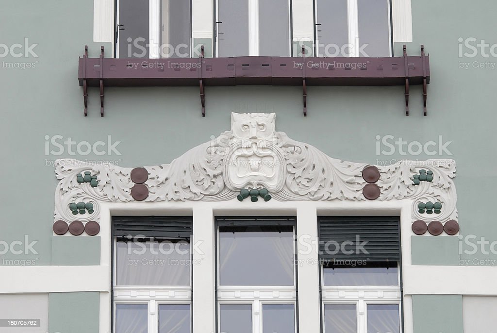 building decoration royalty-free stock photo