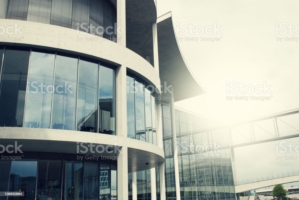 Building district royalty-free stock photo