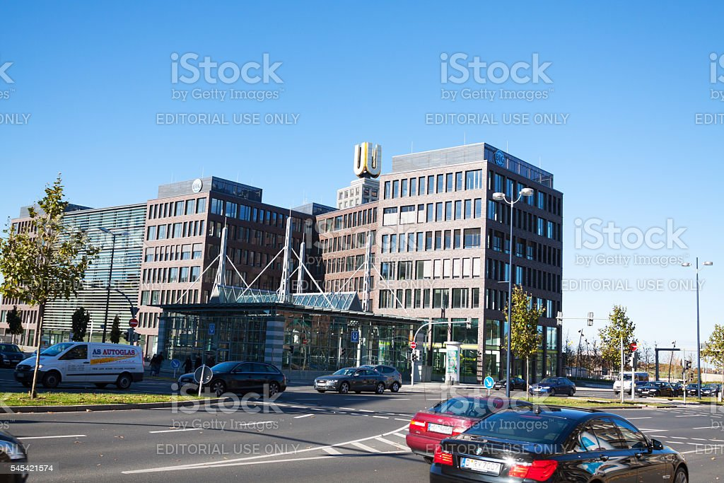 Building Dortmunder U stock photo