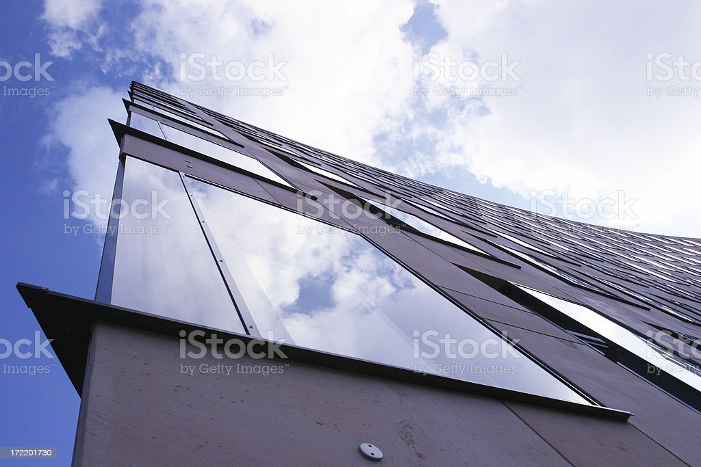 Building edge royalty-free stock photo