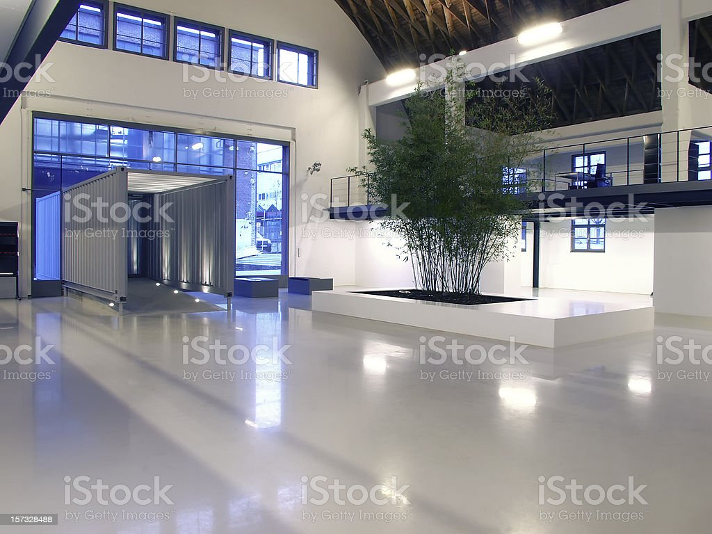 Building entrance royalty-free stock photo