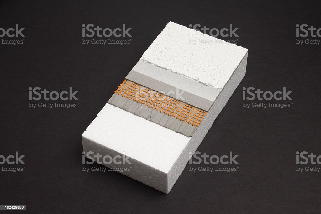 Building Exterior Material stock photo