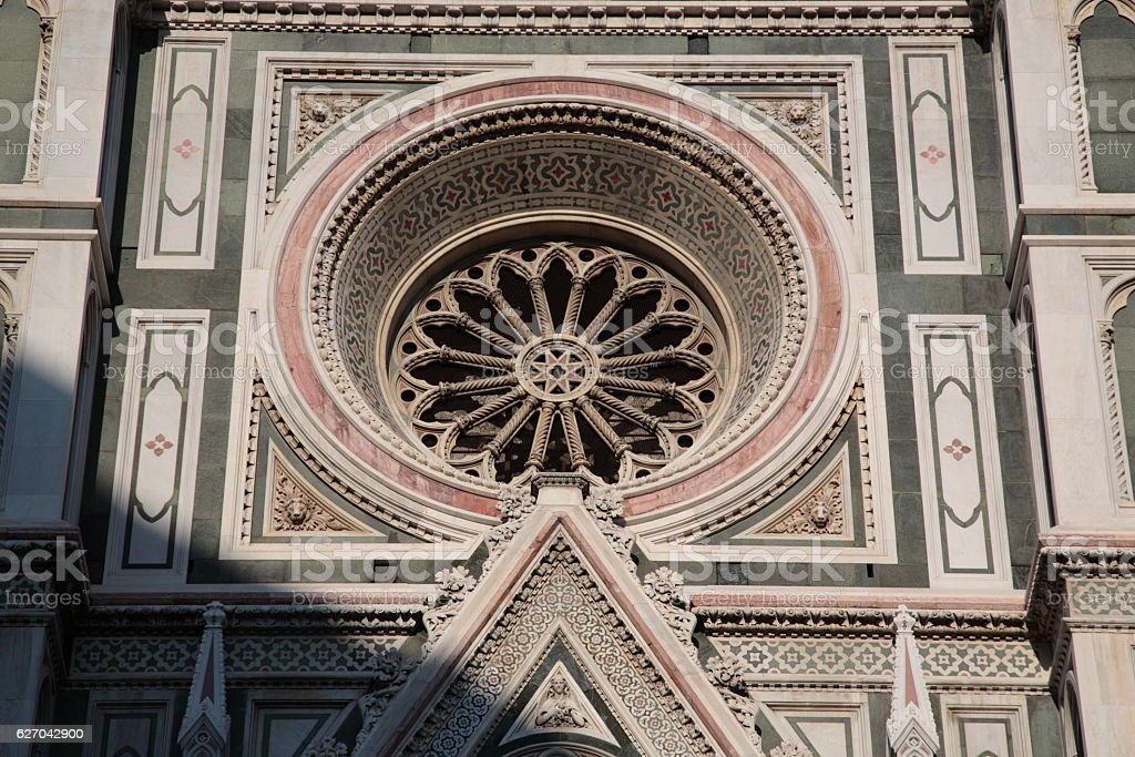 Building Exterior of Florence Duomo, Italy stock photo