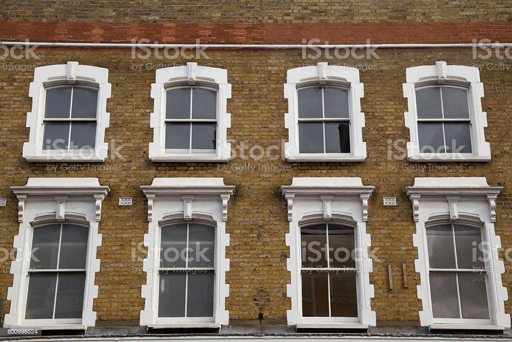 building exterior stock photo
