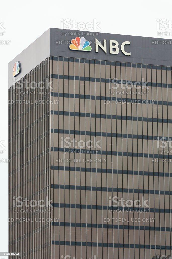 NBC Building exterior stock photo