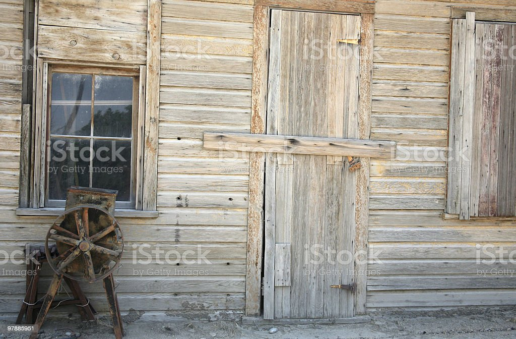 Building exterior stock photo
